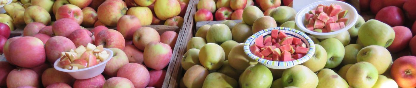 Hood River apples