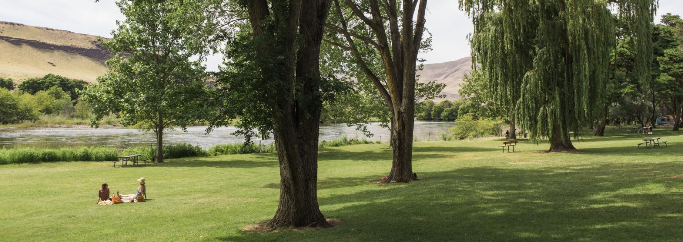Summertime in The Dalles