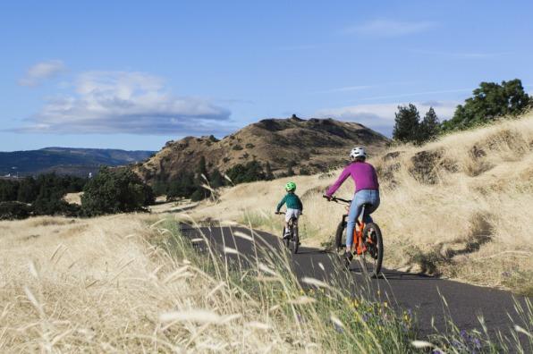 The Dalles bike trail