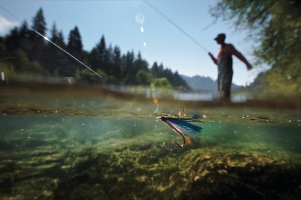 Fly Fishing on Mt. Hood rivers